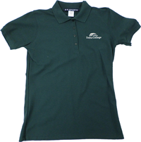 Green Delta College Ladies Polo Shirt