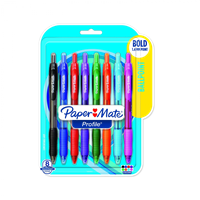 Pack of 8 colored 1.4mm point pens