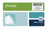 Pack of 100 Index Cards (Ruled)